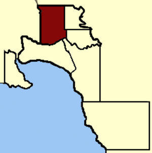 Electoral district of Melbourne - Image: Electoral district of Melbourne 1856