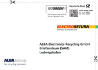 Electroreturn Versandetikett Deutsche Post an Alba.png
