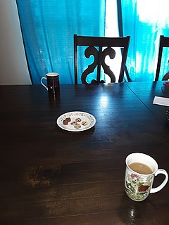 Elevenses A late morning meal/snack