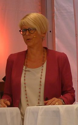 Elisabeth Svantesson Minister for Employment of Sweden 2013