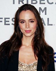Dushku at the 2012 Tribeca Film Festival.