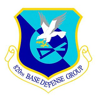 820th Base Defense Group Force protection unit of the United States Air Force