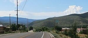 Talpa, New Mexico - Image: Entering Talpa