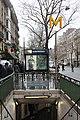 Entrée Métro Denfert Rochereau Paris 4.jpg