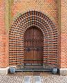 Entrance door Sortebrødre kirke Viborg Denmark.jpg