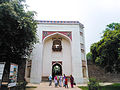 Entrance porch, right before the Arab Sarai Gate, towards Humayun's tomb, New Delhi, India (09).jpg