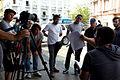 Equipo de producción del Flashmob Venezuela.JPG