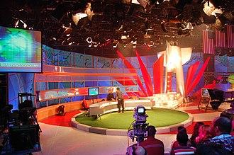 Television in Israel - Eretz Nehederet studio