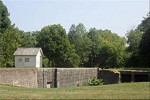 Newark, New York - Image: Erie Canal Lock 59