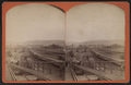 Erie Railroad yard. View of switch yard, by W. L. Sutton 2.png