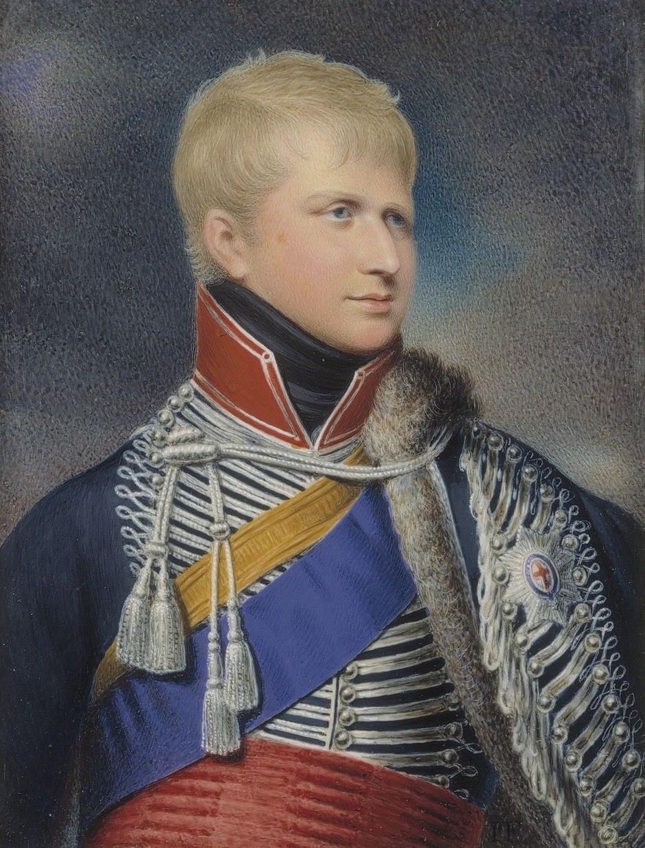 Ernest Augustus by Fischer 1823