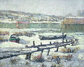 Ernest Lawson - Snowbound Boats.jpg