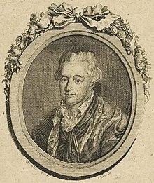 Ernst Wilhelm Wolf, Porträtstich von Gottlob August Liebe (Quelle: Wikimedia)