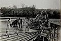 Erzherzog Karl besucht Rupea (Köhalom, Reps), Besichtigung der zerstörten Brücke und der Behelfsbrücke am 15.10.1916 (BildID 15548879).jpg