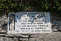 Eskaheen Old Church West Gable Plaque 2014 09 10.jpg