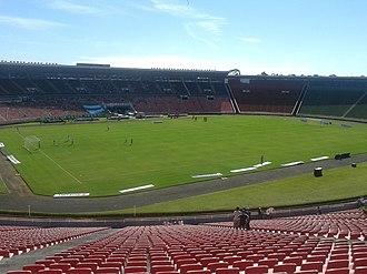 1995 South American Women's Football Championship - Image: Estádio Parque do Sabiá