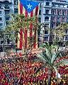 Estelada av diagonal Barcelona.jpg