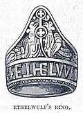 King Æthelwulf's ring