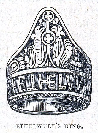 Æthelwulf, King of Wessex - King Æthelwulf's ring