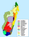 Ethnic groups of Madagascar Map be.png