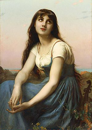 Adolphe Piot - A Young Beauty