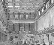 The former Great Hall of Euston Station.