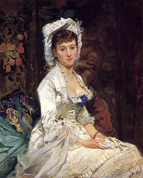 Fichier:Eva Gonzalès - Portrait of a Woman in White.jpg