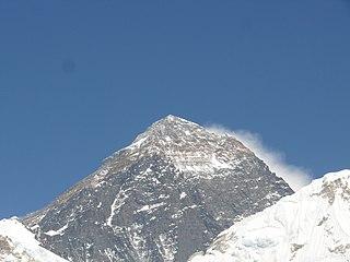 Mount Everest in 2017