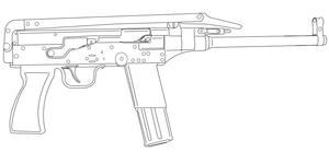 Type 79 submachine gun - Type 79 7.62mm Submachine Gun