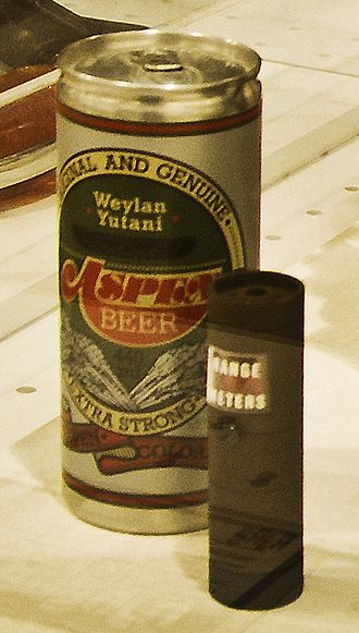 Fictional brand - Aspen beer, a fictional brand from the 1979 film Alien