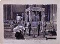 Exposición del cadáver de Dª Mª de las Mercedes de Borbón, 30.10.1904, RABASF, painting by Mariano Pedrero.jpg