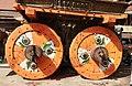 Eyes of the Bhairav on the wheels of the Rato Machhindranath Chariot.jpg