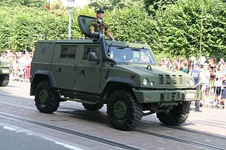 Iveco LMV - Belgian Army LMV during a parade in 2016.