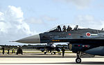 F-2A (506) of 3 Sqn taxis at Andersen Air Force Base during Cope North, -20 Jun. 2007 a.jpg