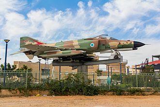 1973 Syrian General Staff Headquarters raid - Israeli 119 Squadron F-4E Phantom II