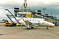 F-GMVJ B.Ae Jetstream 32 Regional Al MAN 28APR94 (6854882016).jpg