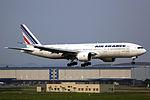F-GSPO - Air France - Boeing 777-228(ER) - CAN (14783163010).jpg