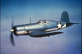 F4U-1 Corsair in flight c1942.jpg