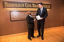 Comey At Annual Fbi And Birmingham Civil Rights Institute Conference May