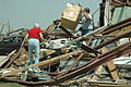 FEMA - 29982 - Greensburg residents working in debris piles in Kansas.jpg