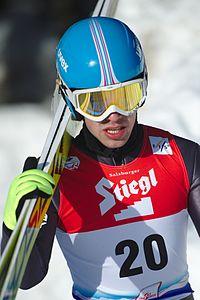 FIS Nordic Combined Continental Cup Eisenerz 2017 Wojciech Marusarz DSC 1879.jpg