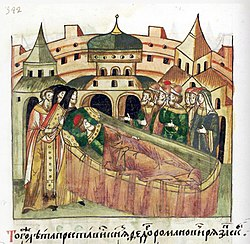 Facial Chronicle - b.07, p.028a - Death of Fedor Romanovich of Ryazan.jpg