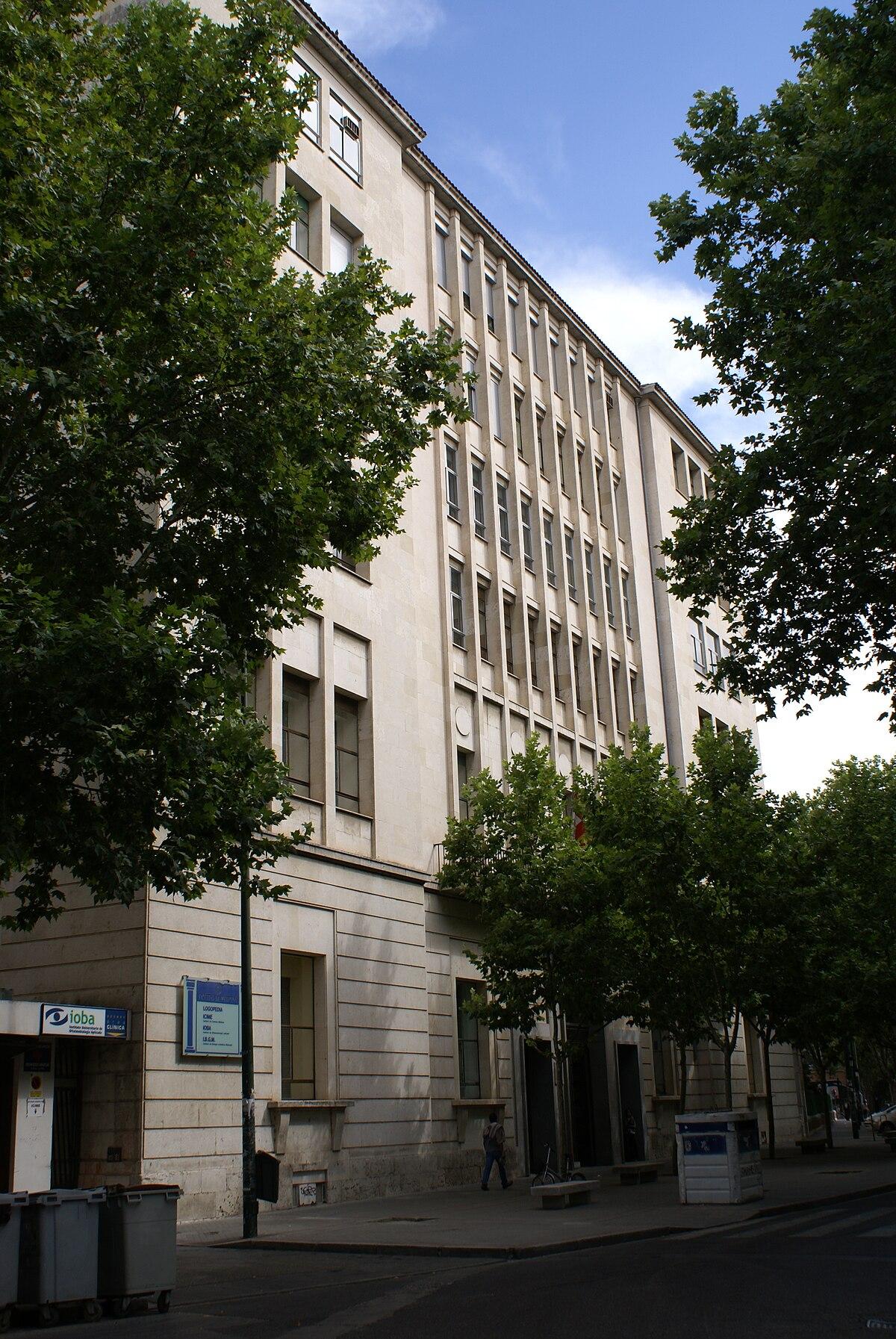 Facultad de Medicina de Valladolid - Wikipedia, la enciclopedia libre