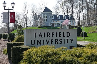 Association of Jesuit Colleges and Universities - Image: Fairfield Entrance