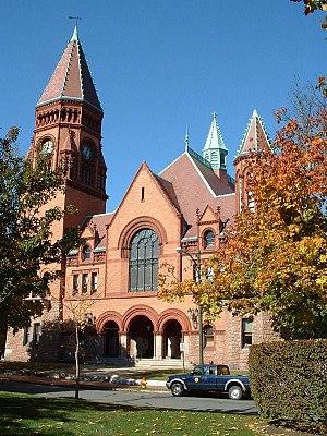 Charles Brigham - Fairhaven Town Hall, Fairhaven, Massachusetts, 1892