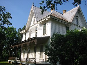 National Register of Historic Places listings in Perry County, Alabama - Image: Fairhope Plantation Side