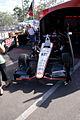 FanVillage Dallara-Chevrolet DW12 Penske-Verizon Racing Will Power ShowCar LFront Tall SPGP 24March2012 (14513054809).jpg
