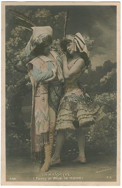 File:Fanny & Alice de Tender in La Mattchiche FK; 405. Photo Stebbing.jpg