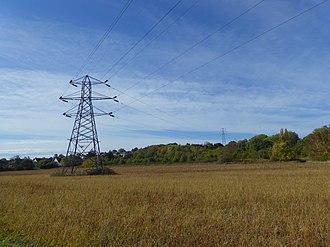 Albany Park, Bexley - Farmland to the north of the area