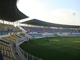 Churchill Brothers S.C. - Fatorda Stadium on a matchday